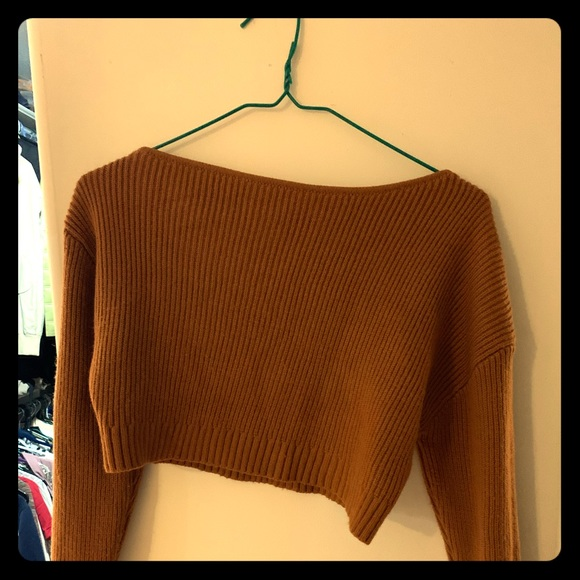 Cool cropped sweater